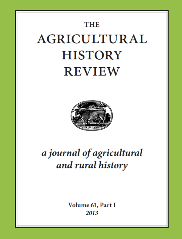 Agricultural History Review cover