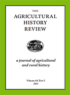 Cover of current Agricultural History Review